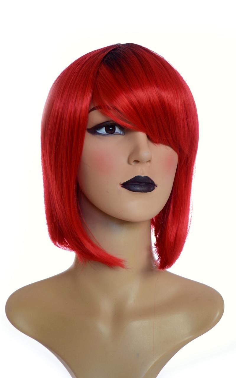 red valentines wig