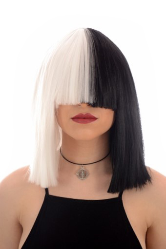 Sia Black White Wig Back In Stock Celeb Wigs Hair By