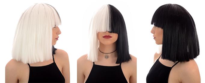 sia wig ·  sia ·  black and white ... 7a52e9fb3f30