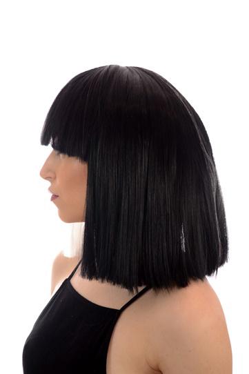 SIA Black White Wig  BACK IN STOCK - Celeb Wigs  238f85494217