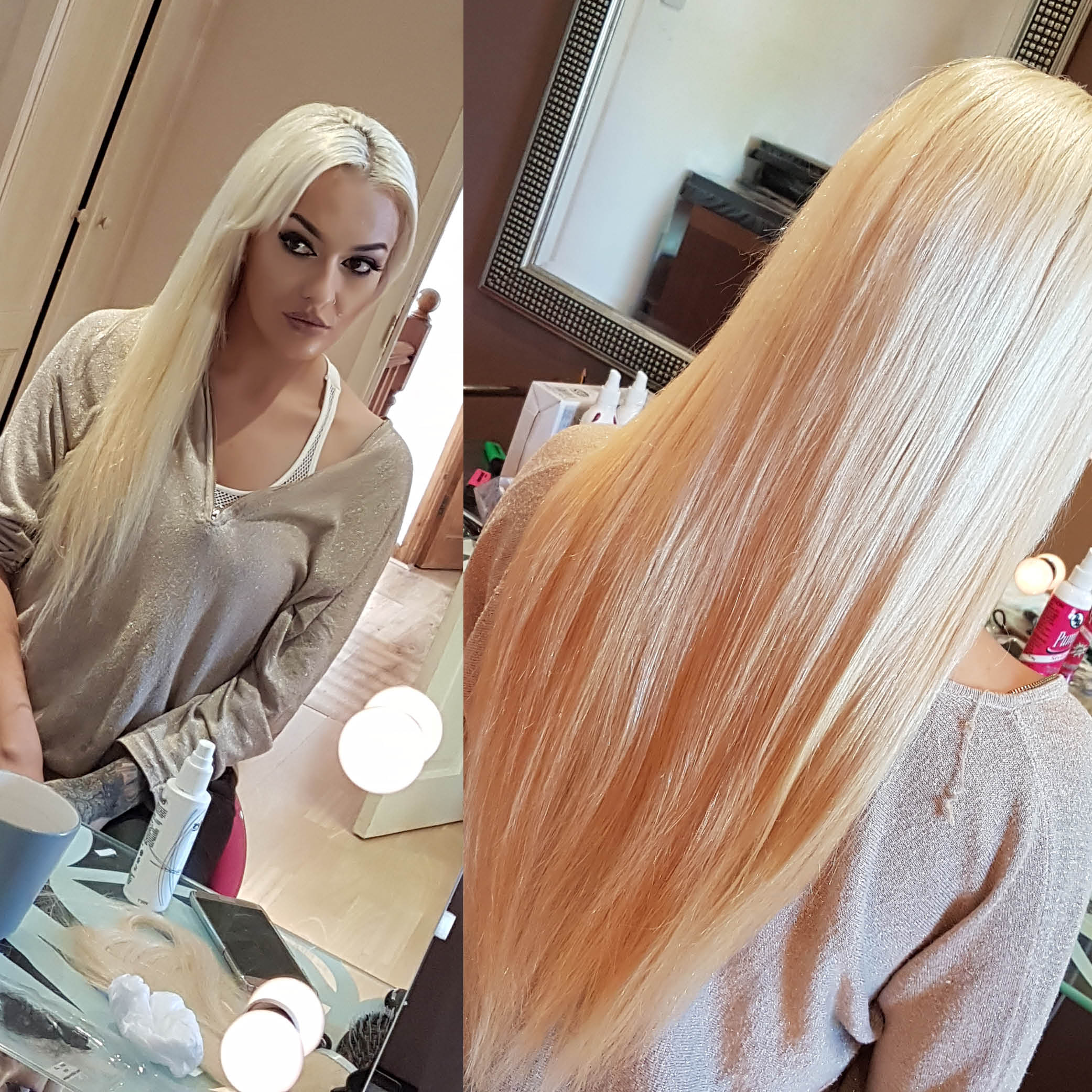 Tape In Hair Extensions Makeover Celeb Wigs Hair By Misstresses